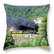 A Slow Climb Throw Pillow