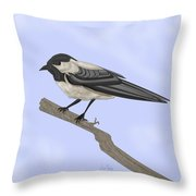 A Small Guest Throw Pillow
