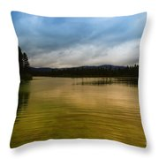 A Small Peice Of Paradise Throw Pillow