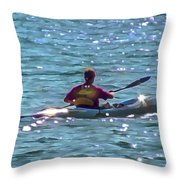 A Solitary Afternoon 2015 Throw Pillow