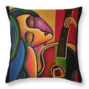 A Song For My Love Throw Pillow