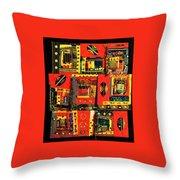 A Song For The Maasai Throw Pillow