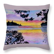A Song Of Color Throw Pillow