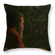 A Soothing Peace Throw Pillow