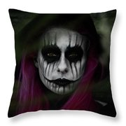 A Soul Cannot Be Lost If It Was Never There Throw Pillow