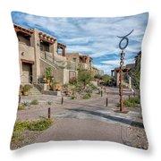 A Southwest Community Throw Pillow