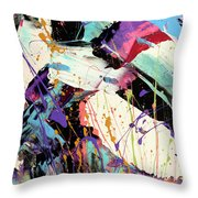 A Space Of Possibles Abstract Throw Pillow