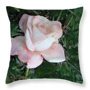 A Special Rose Throw Pillow