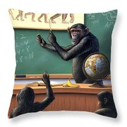 A Specious Origin Throw Pillow