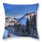 A Spectacular Drive Throw Pillow