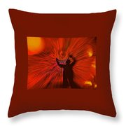 A Spiral Of Passion Throw Pillow
