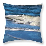 A Splash In The Surf Throw Pillow