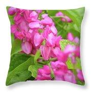 A Splash Of Pink Throw Pillow
