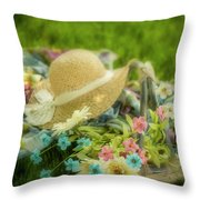 A Spring Afternoon Throw Pillow