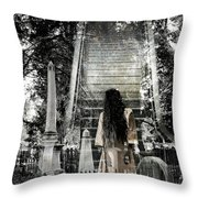A Stairway To Heaven Throw Pillow