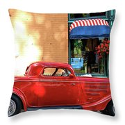 A Step Back In Time Throw Pillow
