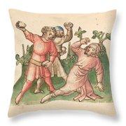 A Stoning Throw Pillow