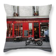 A Stop Along The Journey Throw Pillow