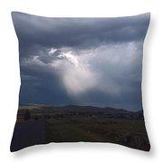 A Storm Cloud Throw Pillow