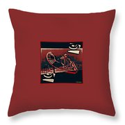A Storm Of Turntables Throw Pillow