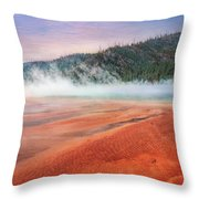 A Strange Place Throw Pillow
