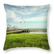 A Summer Evening In Charleston Throw Pillow