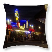 A Summer Night In Tarpon Springs Throw Pillow