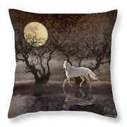 A Summer Night's Dream Throw Pillow