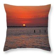 A Summer Of Sleepless Joy Throw Pillow