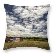 A Summer Sky Throw Pillow