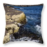 A Summer's Day At Nubble Light, York, Maine  -67969 Throw Pillow