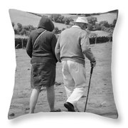 A Sunday Stroll In The Country Throw Pillow