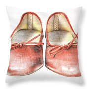 A Sunday Walk Throw Pillow