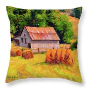 A Sunny Morning Throw Pillow