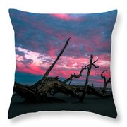 A Sunset On Jekyll Throw Pillow