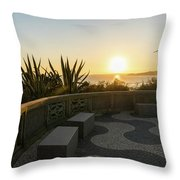 A Sunset Relaxation Zone - Throw Pillow