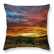 A Sunset To Remember Throw Pillow