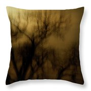 A Surreal Evening Throw Pillow