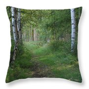 A Suspended Silence Where The Wild Things Are Throw Pillow