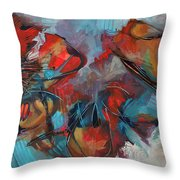 A Swanky Affair Throw Pillow