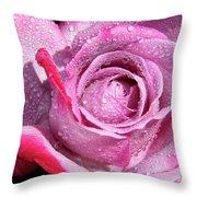 A Sweet Sweet Rose Throw Pillow