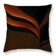 A Swirl Of Light Throw Pillow
