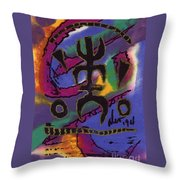 A Symbol Of Life Throw Pillow