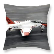 A T-45c Goshawk Training Aircraft Makes Throw Pillow