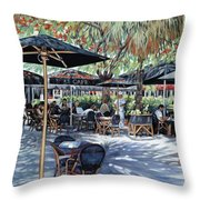 A Table For Two Throw Pillow