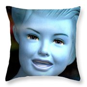 A Tad Chilly  Throw Pillow