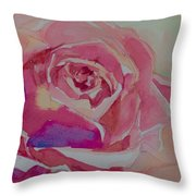 A Tale Of A Rose  Throw Pillow