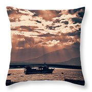 A Taste Of Natales Throw Pillow
