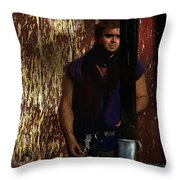 A Tavern In Deptford Throw Pillow