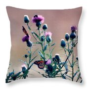 A Thistle Community Throw Pillow